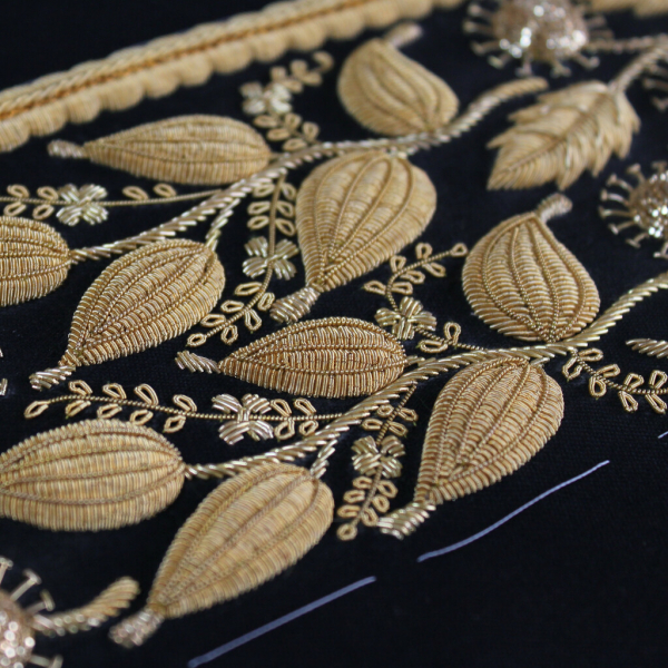 Goldwork, Gold work, embroidery, sewing, cutwork, wire, gold, gold wire