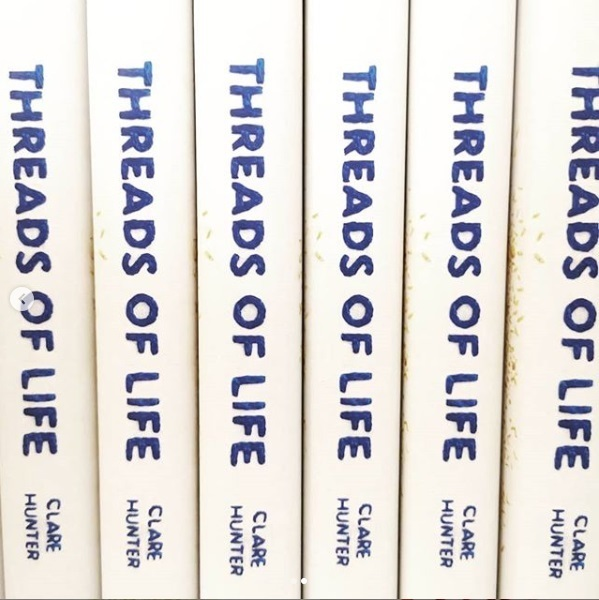 threads of life, book, embroidery, thread