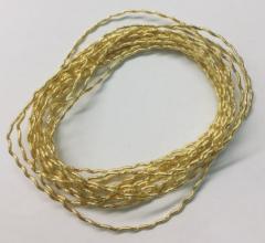goldwork, gold work, Rococco Gold Thread, thread, yarn, wire, equipment, Rococo thread