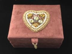 tambour, beginner, tambour beading, tambour stitching, box, bead, beaded box