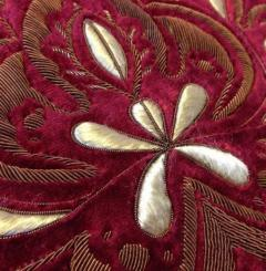 goldwork, gold work, flower, silk shading, silk, shading, rose,