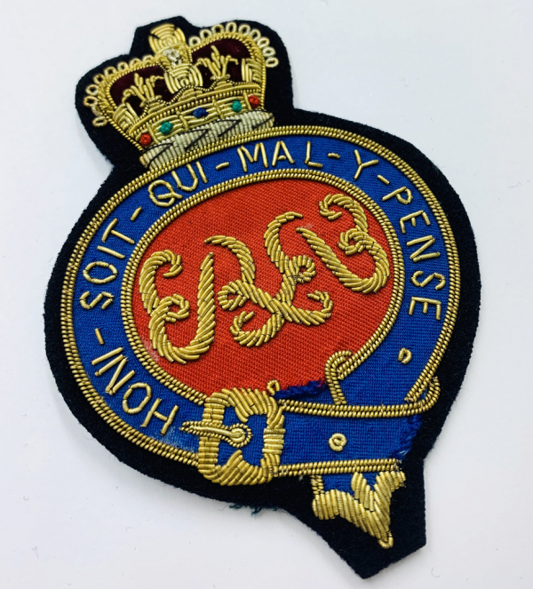 Grenadier Guards Blazer Badge, Gold Badge, Cap Badge,Blazer, badge, Cap, Cap Badge, Blazer Badge, Vintage badge, military, military badge, military button