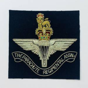Parachute Regiment Blazer Badge, Gold Badge, Cap Badge,Blazer, badge, Cap, Cap Badge, Blazer Badge, Vintage badge, military, military badge, military button