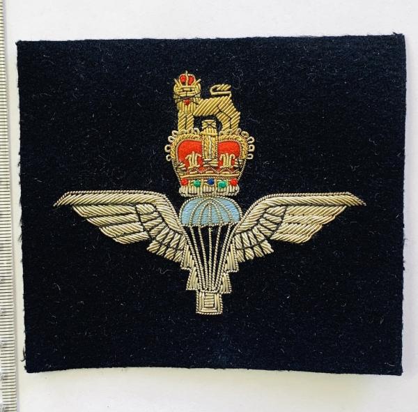 Parachute Regiment Blazer badge, blue badge, badge, Cap, Cap Badge, Blazer Badge, Vintage badge, military, military badge, military button