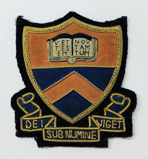 Princeston University Blazer Badge, Gold Badge, Cap Badge,Blazer, badge, Cap, Cap Badge, Blazer Badge, Vintage badge, military, military badge, military button