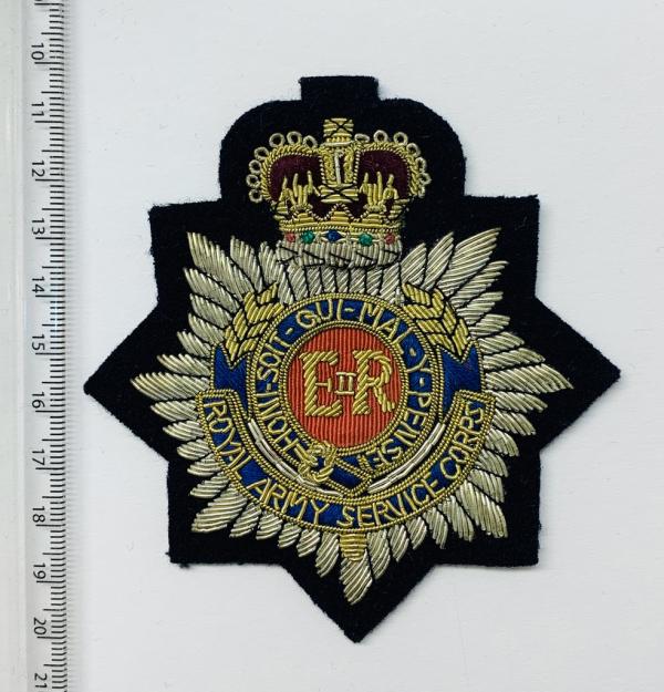 Royal Army Service Corps Blazer Badge, Gold Badge, Cap Badge,Blazer, badge, Cap, Cap Badge, Blazer Badge, Vintage badge, military, military badge, military button