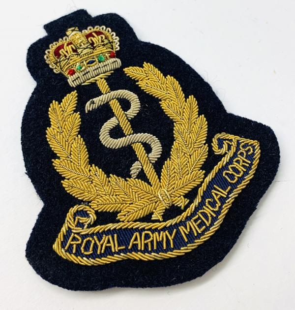 Royal Medical Corps Blazer Badge, Gold Badge, Cap Badge,Blazer, badge, Cap, Cap Badge, Blazer Badge, Vintage badge, military, military badge, military button
