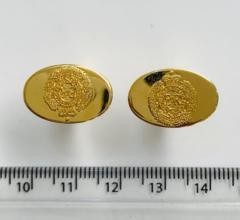 Royal Engineers Cufflinks, cufflinks, cufflinks, suit, gold cufflinks, Pin Badge, Button, Badge, Pin, Gold pin, Gold Button, Brooch, accessory
