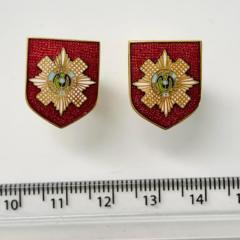 Scots Guards Cufflinks, cufflinks, cufflinks, suit, gold cufflinks, Pin Badge, Button, Badge, Pin, Gold pin, Gold Button, Brooch, accessory