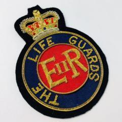 The Life Guards Blazer Badge Blazer Badge, Gold Badge, Cap Badge,Blazer, badge, Cap, Cap Badge, Blazer Badge, Vintage badge, military, military badge, military button