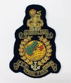 Royal Marines Blazer Badge Blazer Badge, Gold Badge, Cap Badge,Blazer, badge, Cap, Cap Badge, Blazer Badge, Vintage badge, military, military badge, military button