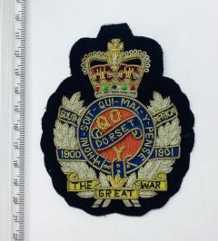 The Dorset regiment Blazer Badge Blazer Badge, Gold Badge, Cap Badge,Blazer, badge, Cap, Cap Badge, Blazer Badge, Vintage badge, military, military badge, military button