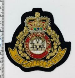 The Suffolk Regiment Blazer Badge Blazer Badge, Gold Badge, Cap Badge,Blazer, badge, Cap, Cap Badge, Blazer Badge, Vintage badge, military, military badge, military button