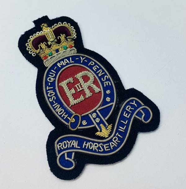 Royal Horse Artillery Blazer Badge, Gold Badge, Cap Badge,Blazer, badge, Cap, Cap Badge, Blazer Badge, Vintage badge, military, military badge, military button