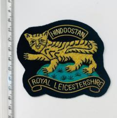 Royal Leicestershire Regiment Blazer Badge, Gold Badge, Cap Badge,Blazer, badge, Cap, Cap Badge, Blazer Badge, Vintage badge, military, military badge, military button