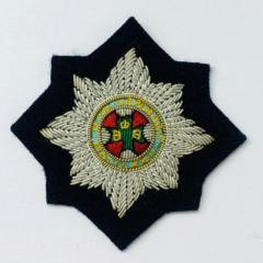 Irish Guards Cap Badge, Cap, Gold, Gold Badge, Cap Badge,Blazer, badge, Cap, Cap Badge, Blazer Badge, Vintage badge, military, military badge, military button