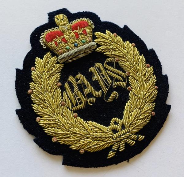 2nd Dragoon Queen's Bay Blazer Badge, Blazer, Blazer Badge, Cap Badge,Blazer, badge, Cap, Cap Badge, Blazer Badge, Vintage badge, military, military badge, military button