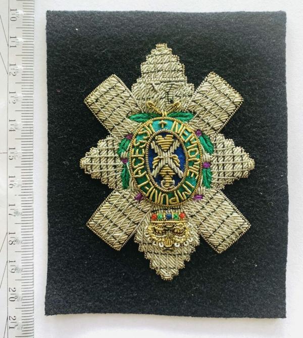 Black Watch Blaze Badge, Gold Badge, Cap Badge,Blazer, badge, Cap, Cap Badge, Blazer Badge, Vintage badge, military, military badge, military button