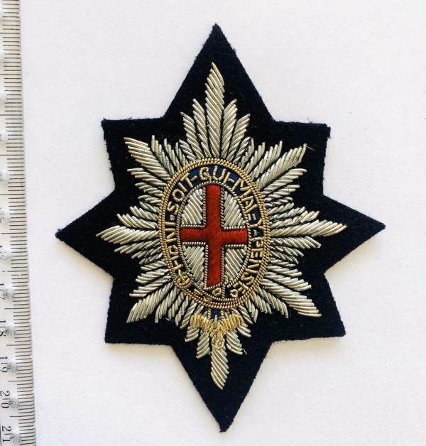 Coldstream Guards Blazer badge, badge, Cap, Cap Badge, Blazer Badge, Vintage badge, military, military badge, military button