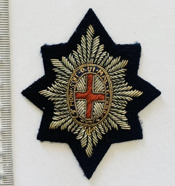 Coldstream Guards Cap badge, badge, Cap, Cap Badge, Blazer Badge, Vintage badge, military, military badge, military button
