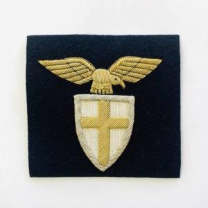 Eagle & Cross Blazer badge, badge, Cap, Cap Badge, Blazer Badge, Vintage badge, military, military badge, military button
