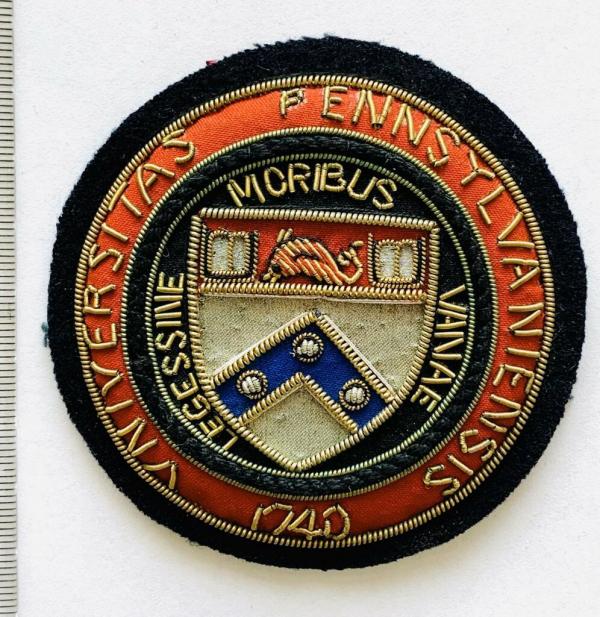 Pennsylvania University Blazer badge, badge, Cap, Cap Badge, Blazer Badge, Vintage badge, military, military badge, military button
