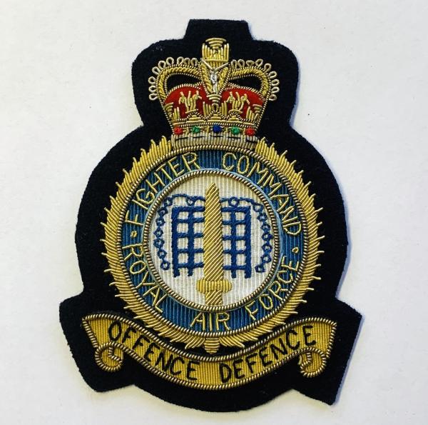 RAF Fighter Command Blazer badge, badge, Cap, Cap Badge, Blazer Badge, Vintage badge, military, military badge, military button