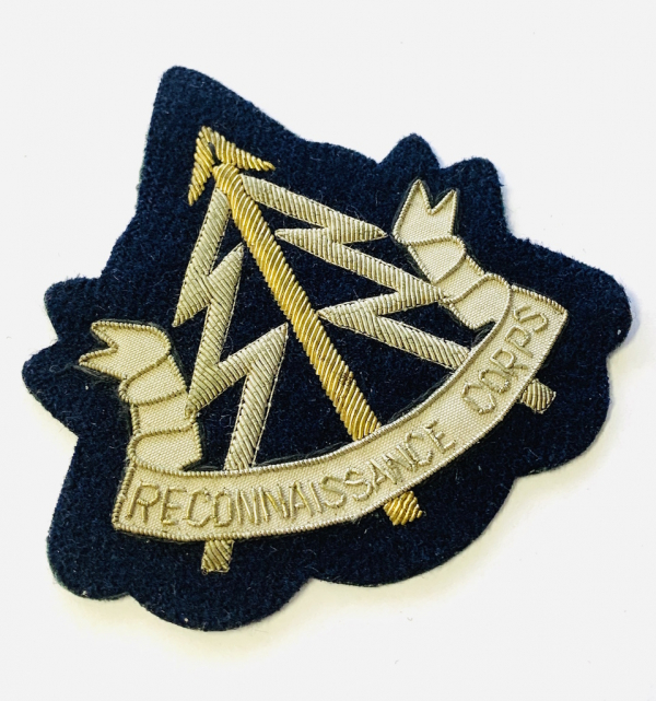 Reconnaissance Corps Blazer badge, badge, Cap, Cap Badge, Blazer Badge, Vintage badge, military, military badge, military button