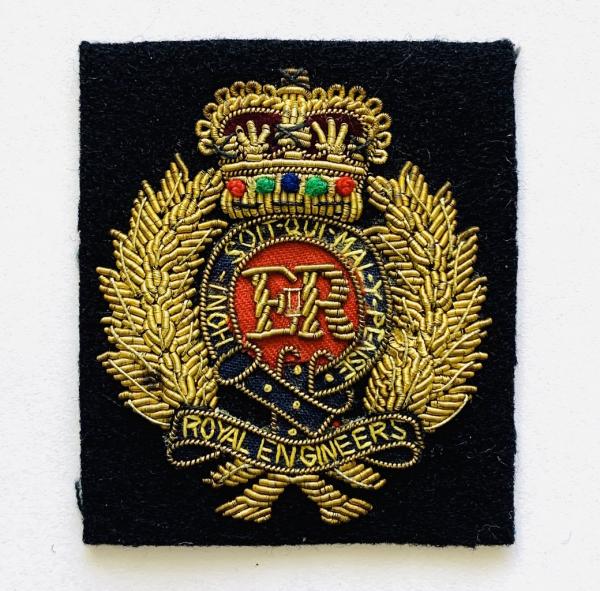 Royal Engineer Cap Badge, Cap, Gold, Gold Badge, Cap Badge,Blazer, badge, Cap, Cap Badge, Blazer Badge, Vintage badge, military, military badge, military button