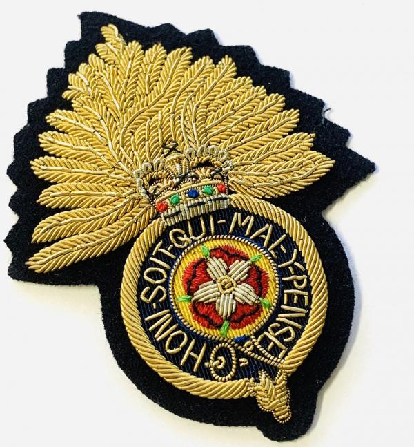 Royal Fusiliers Blazer badge, badge, Cap, Cap Badge, Blazer Badge, Vintage badge, military, military badge, military button