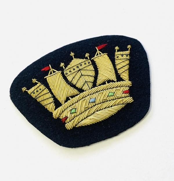 Royal Naval Blazer badge, badge, Cap, Cap Badge, Blazer Badge, Vintage badge, military, military badge, military button