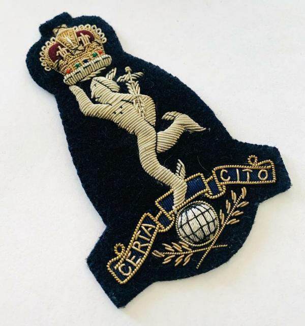 Royal Signals Blazer badge, badge, Cap, Cap Badge, Blazer Badge, Vintage badge, military, military badge, military button