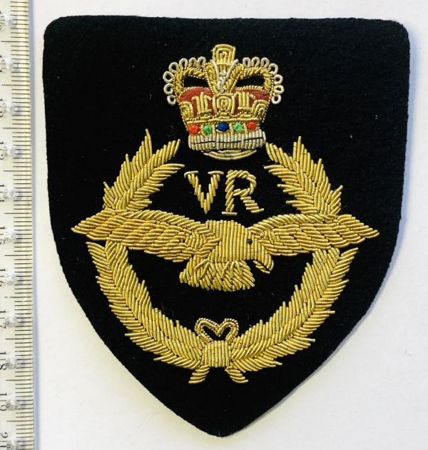 Royal Volunteer Reserve Blazer badge, badge, Cap, Cap Badge, Blazer Badge, Vintage badge, military, military badge, military button