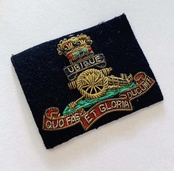 The Royal Artillery Cap Badge, Cap, Gold, Gold Badge, Cap Badge,Blazer, badge, Cap, Cap Badge, Blazer Badge, Vintage badge, military, military badge, military button