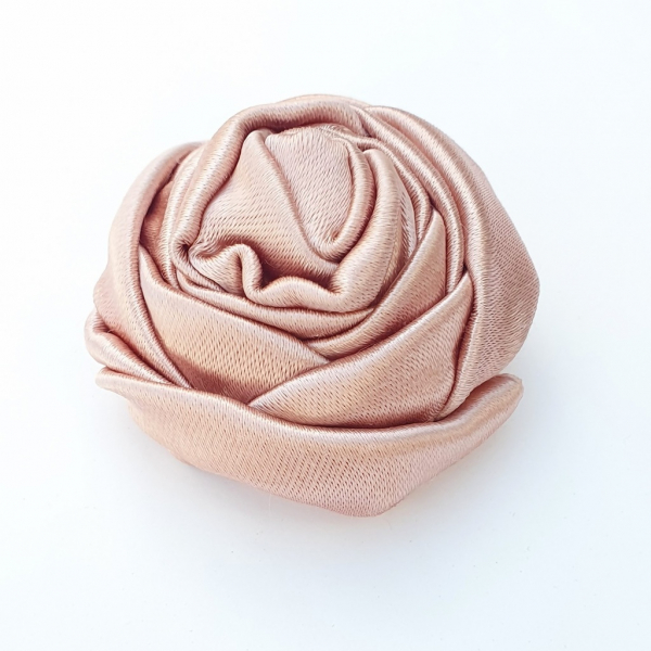 blooming peony, peony, online class, kit, flower, fabric flower, rose, fabric manipulation, pink flower, product outcome
