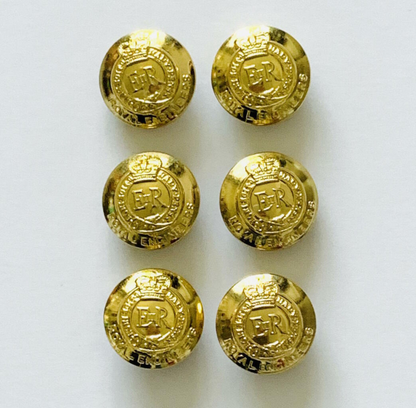 Button, Royal Engineers Buttons, Gold Button, Military, Military Button, Military Badge, Vintage, Embellishments, Accessories