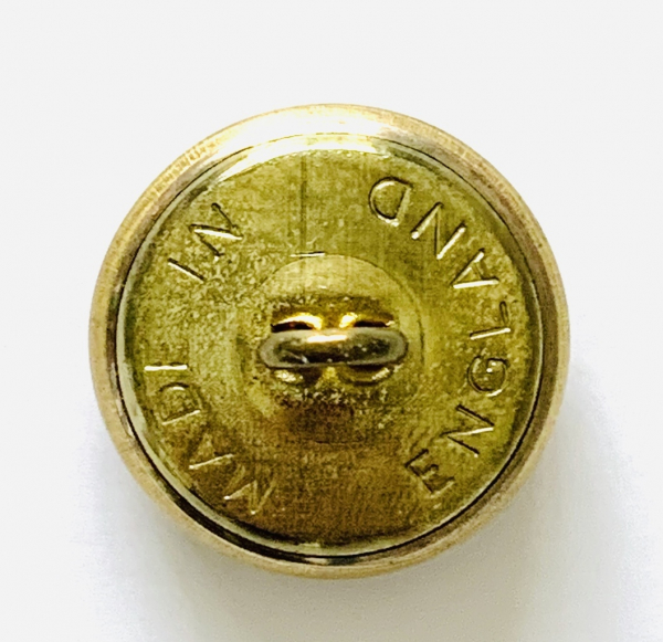 Button, Royal Marine Buttons, Gold Button, Military, Military Button, Military Badge, Vintage, Embellishments, Accessories