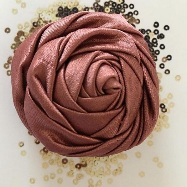 fabric flower, blooming peony, peony, Rose, Fabric peony, yellow Rose, fabric Manipulation, Embroidery, sewing, yellow