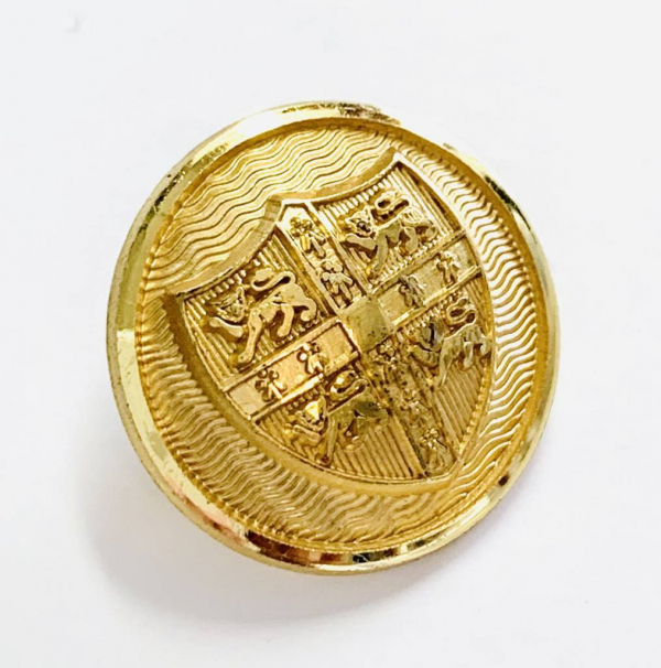 Button, Cambridge University Button, Gold Button, Military, Military Button, Military Badge, Vintage, Embellishments, Accessories