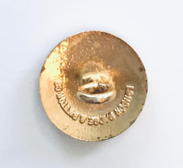 Button, Lowland Unicorn Button, Gold Button, Military, Military Button, Military Badge, Vintage, Embellishments, Accessories