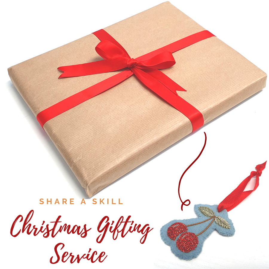 Christmas, Mail, Orders, Packages, Goldwork, Gold work, Online Class, Cherry