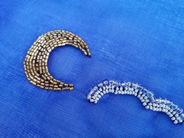 Tambour, Tambour Beading, Beading, Product Outcome, Design Outcome, Close Up, Embroidery