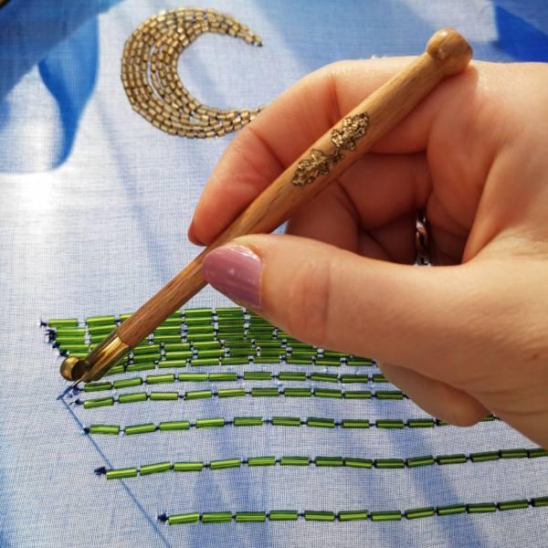 Tambour, Tambour Hook, Equipment, Sequins, Hook, Beading, Beads, Embroidery