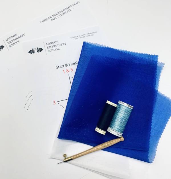 Tambour, Tambour Kit, Tambour Beading, Stitch, Tambour Stitch, Fabric, Thread, tambour Hook, Hook