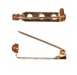 Brooch Bar, Gold, accessories, pin