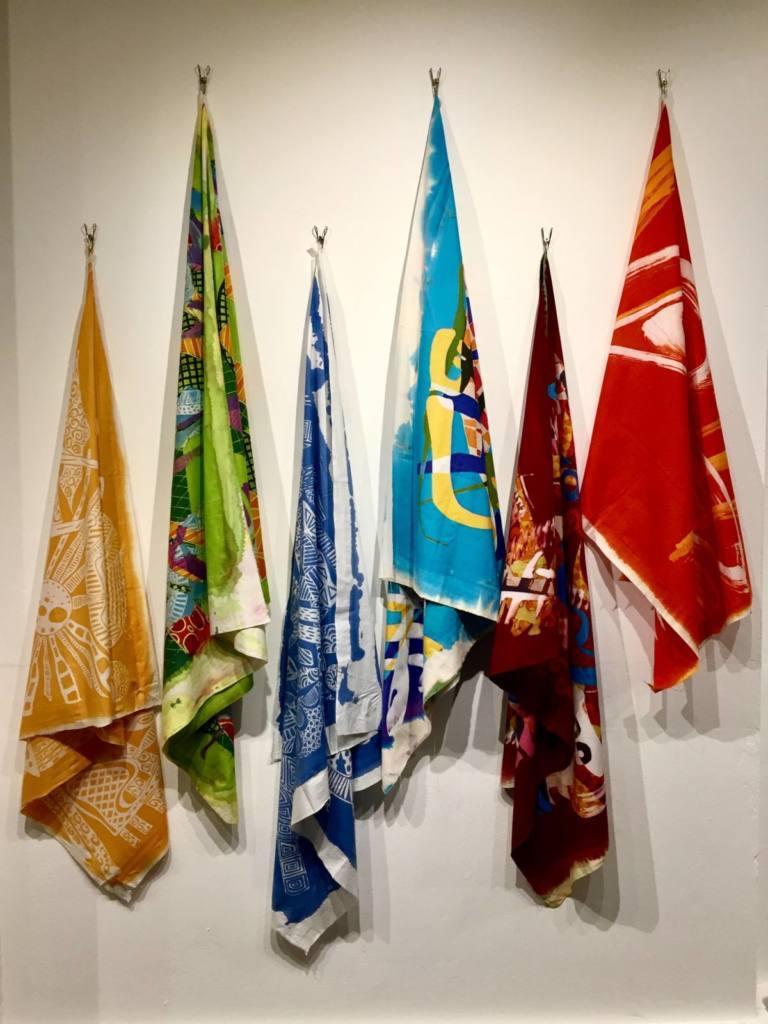 batik, fabric, Annie Phillips, colours